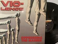 Vio-Lence – Oppressing The Masses LP 1990 Megaforce 7567-82105-1 VG+/VG+ Germany