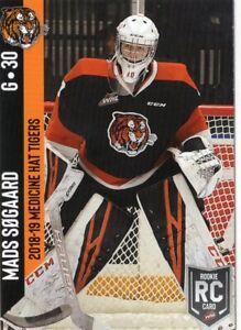 2018/19 Medicine Hat Tigers (WHL) - MADS SOGAARD (g)