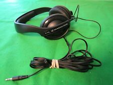 Sennheiser HD202 Professional DJ Headphones 10 Ft. Cable TESTED WORKING