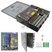 DC 12V 10A 9CH Ports Power Supply Distribution Box CCTV Security Camera