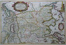 Nordertheil des Herzogthumbes Schleswieg - Dänemark - Blaeu Mejer 1662