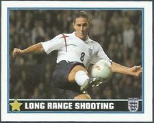 MERLIN-ENGLAND 2006 WORLD CUP- #095-ENGLAND & CHELSEA-FRANK LAMPARD ON THE BALL