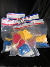Hedstorm Climbing Rock Grips 30 Grips Multi Colored Hardware Included