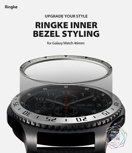 Ringke [Inner Bezel Styling] for Galaxy Watch 46mm, Ring Cover Stainless Steel