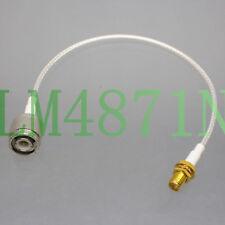"TNC Male to SMA Female for CB Ham Radio Antenna RG316 8"" RF Coaxial Teflon Cable"