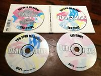 Dead or Alive - Spin me Around & Sex Drive Double Disc Digi 2x Cd Mint Perfetto