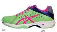 ASICS Gel-Court Bella Women's Tennis Badminton Shoes. Color-Green. Size- US 5M