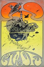 Pink Floyd * Psychedelic * Concert Poster Circa 1967