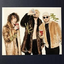 CHEAT CODES DJ GROUP HAND SIGNED AUTOGRAPHED 8x10 PHOTO DANCE MUSIC NO PROMISES