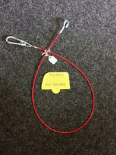 ALKO AL-KO CARAVAN/TRAILER BRAKE BRAKEAWAY SAFETY CABLE WITH CARABINER CLIP T165