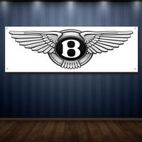 BENTLEY 1' X 3' Garage Banner, 13oz Vinyl - FREE SHIPPING Car Dealership  NEW