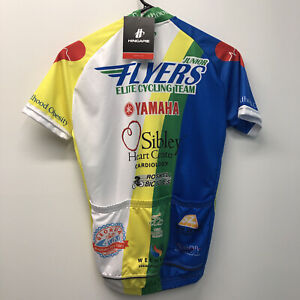 HINCAPIE Junior Flyers Elite Cycling Team JERSEY SHIRT 2XS Roswell Bicycles Ga.