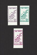 Ile Roy Fantasies Protection of Nature 3v Lizards MNH ex Jim Czyl