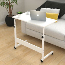Removable Laptop Table Height Adjustable Computer Desk With Wheels Home Office