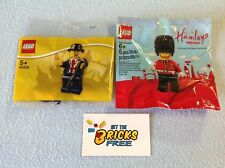 Lego Exclusive UK Polybags Lot of 2 40308/5005233 New/Sealed/Hard to Find