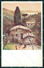 Genova Rapallo Collina cartolina RT0530