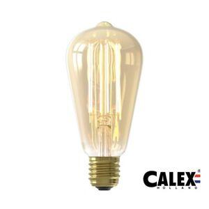 4W Calex LED Long Filament Globe Vintage Bulb  E27/ES GLB95 Gold Dimmable 425464