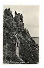 POSTCARD 'DEVON' Sharpitor Rocks, Bolt Hill, Salcombe RP No:15778 /DVN2-37