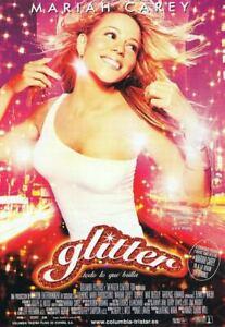 Glitter (Double Sided Spanish) Original Music Poster