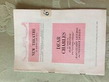 a1z theatre programme 1952 dear charles yvonne arnaud brenda beith rae douglas