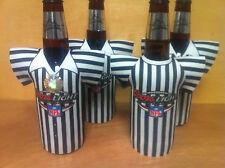 Coors Light Referee Bottle Koozie Cooler Coozie - Official NFL - Set of 4 New FS