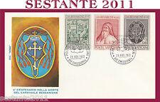 VATICANO FDC ROMA 1972 CARDINALE BESSARIONE (404)