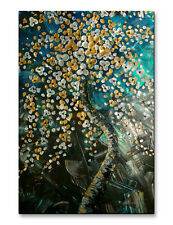 Metal Art Abstract Floral Artwork Modern Wall Sculpture by Brittney Hallowell