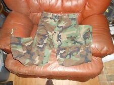 US Army Camouflage BDU Woodland Camo Pants Small Short Winter Weight