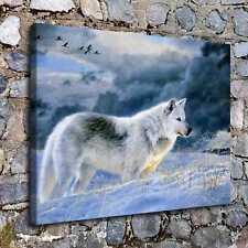 "16""x20""Return Wolf Animal Paintings HD Canvas Print 16""x20"" Home Decor Wall Art"