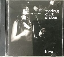SWING OUT SISTER: LIVE (CD.) 2005**FREE P&P**