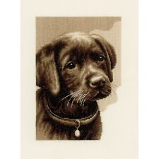 VERVACO 0158080 Cucciolo Labrador Ricamo Contato