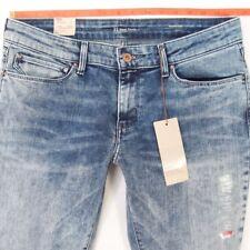 Nouveau Débardeur LEVIS Demi Curve Skinny Stretch Jeans Bleu W32 L30 Bnwt Taille UK 12