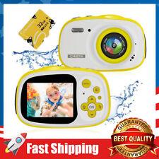 Kids Waterproof Camera,8MP 2.0 Inch HD Screen Camcorder w/ 6X Digital Zoom