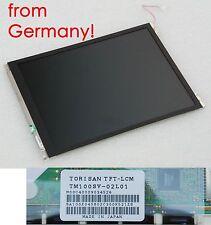 """INDUSTRIAL 10"""" 25,4cm TFT DISPLAY MATRIX TORISAN SANYO 800x600 TM100SV-02L01 T66"""