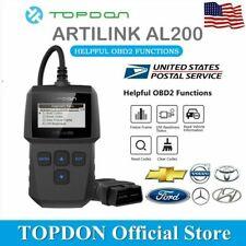 Topdon ArtiLink200 OBD2 OBDII Scanner Car Diagnostic Scan Tool Fault Code Reader
