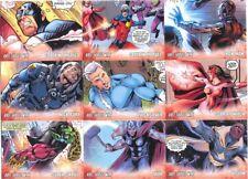 2011 Upper Deck Avengers: Kree-Skrull War Character Card Set Of 9 Cards RARE!