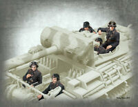Master Box 35201 - 1/35 German Tank Crew, 1944-1945 WWII 5 figures NEW SEPT 2019