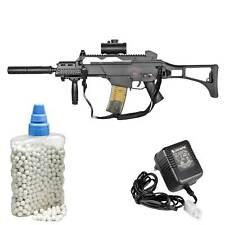 SET Heckler & Koch G36 C AEG Softair-Gewehr 6 mm BB < 0,5 Joule (P14) + 800 BB