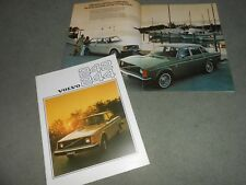 1976 VOLVO 242 & 244 LARGE 20 Page BROCHURE, ORIGINAL 76 CATALOG