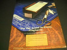 QUAD EIGHT ELECTRONINCS for the artist in every engineer 1979 PROMO POSTER AD