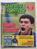 GUERIN SPORTIVO N. 27 - 1994 + IL FILM DI USA '94 ROBERTO BAGGIO DIEGO MARADONA