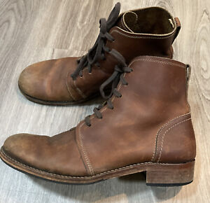 Wolverine 1000 Mile Leather Boots Size 12 D