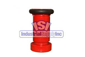 "Fire Hose Nozzle | 1-1/2"" National Standard Thread (NST) 