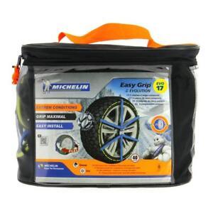 Cadenas Nieve Textiles Michelin Easy Adherentes Evolution N º 17/ 225/ 75x16