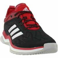 adidas Speed Trainer 4  Casual Baseball  Shoes Black Mens - Size 9 D
