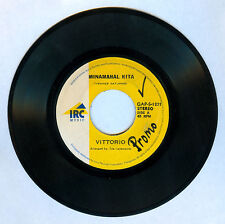 Philippines VITTORIO Minamahal Kita OPM 45 rpm Record