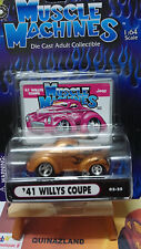 Muscle Machines '41 Willy's Coupe dorée (9939)