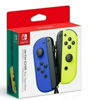 NEW Nintendo Switch Joy Con Wireless Controller Official Joycon Blue Neon Yellow