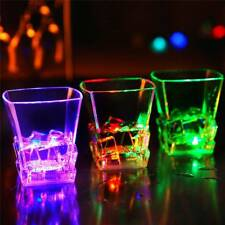 LED Acrylic Water Induction Flashing Luminous Light-Up Cup For Bar Party Discos