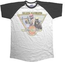 BLACK SABBATH Never Say Die Tour 1978 RAGLAN T-SHIRT OFFICIAL MERCHANDISE